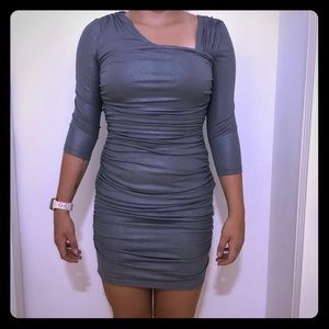 Guess Bodycon Ruched Mini Dress Size 8